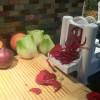 Spiralizing for the Fennel Beet Grapefruit Salad