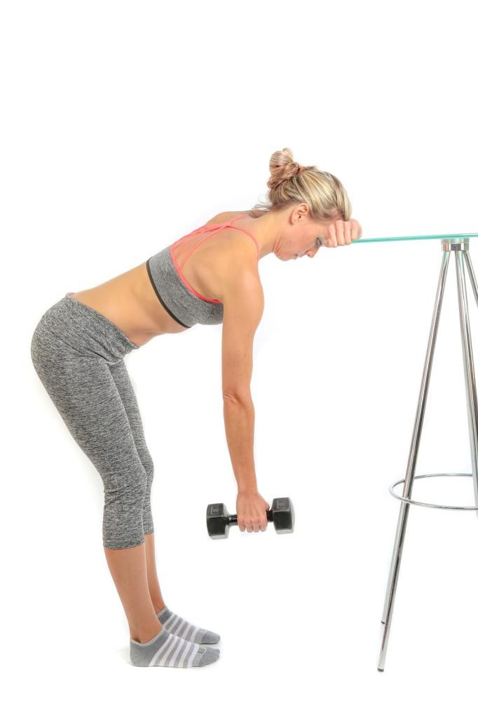 Pendulum exercise for frozen shoulder